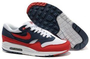 Nike Air Max 87 красно-синие (40-46)