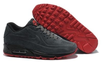 Nike Air Max 90 VT замшевые темно-серые (35-45)