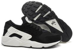 Nike Huarache черные с белым 35-45