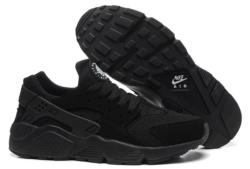 кроссовки Nike Huarache черные (35-45)
