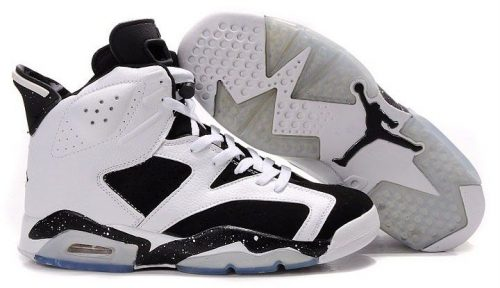 Nike Air Jordan 6 черно-белые (40-44)