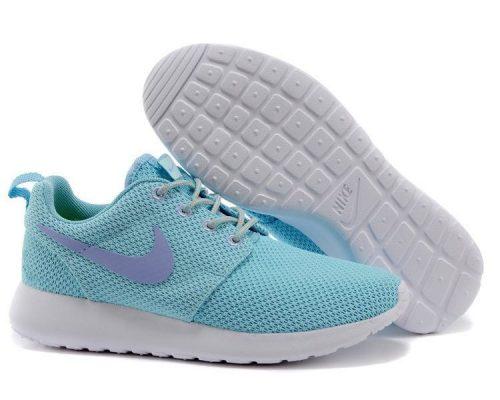 Nike Roshe Run голубые (35-40)