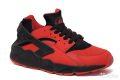 Nike Air Huarache красно-черные (35-40)
