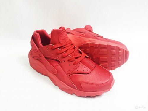 Nike Air Huarache красные (35-40)