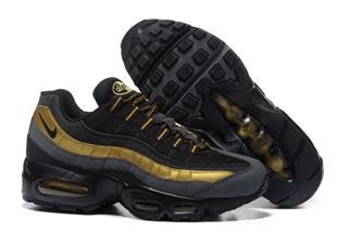 Nike Air Max 95 черные золото (40-45)