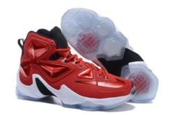 Nike Lebron красные с белым (40-46)
