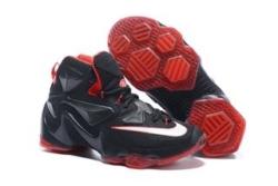 Nike Lebron черные с красным (40-46)