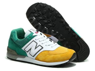 New Balance 576 зелено-бело-желтые (39-45).