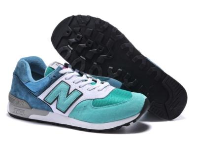 New Balance 576 сине-бело-бирюзовые (39-45).