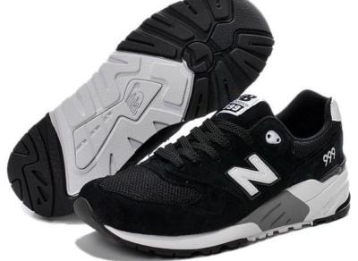 New Balance 999 черные с белым (36-44)