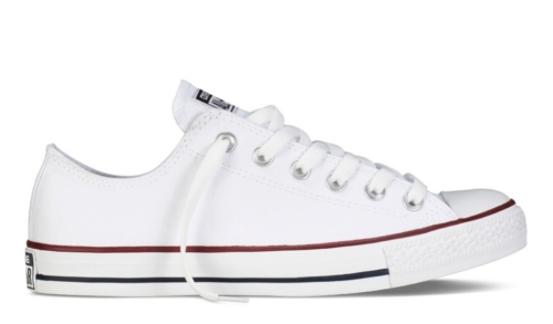 Converse All Star Chuck Taylor low белые (35-45)