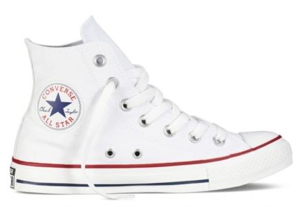 Converse All Star высокие белые (35-45)