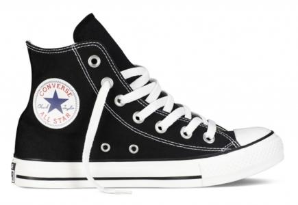 Converse All Star высокие чёрно-белые (35-45)