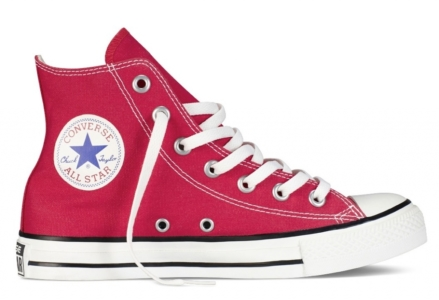Converse Chuck Taylor All Star High ткань красные (35-45)