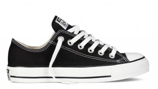 Converse All Star ткань черные (35-45)