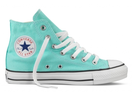 Converse All Star высокие бирюзовые (35-45)