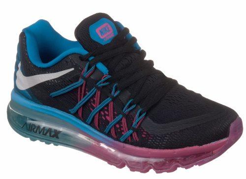 Nike Air Max 2015 сине-черные (35-40)