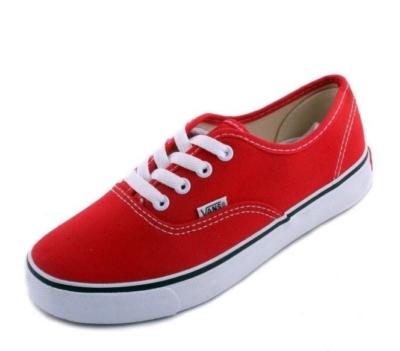Vans красные (36-41)