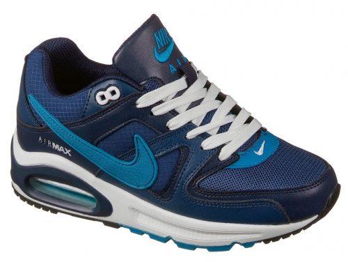 Nike Air Max 90 Skyline темно-синие с голубым (36-45)
