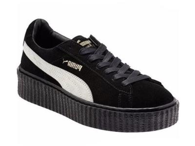 Puma Rihanna черные с белым (35-40)
