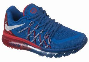 Nike Air Max 2015 синие с красным (39-45)