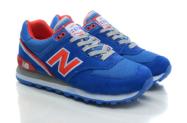 New Balance 574 синие с красным (35-39)