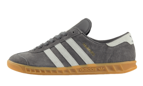 Adidas Hamburg серые с белым (40-45)