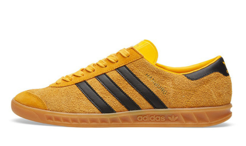 Adidas Hamburg желтые с черным (40-45)