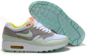 Nike Air Max 87 серо-белые (35-40)