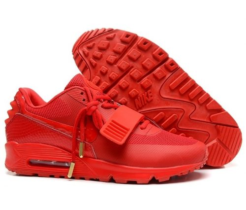 Nike Air Max 90 Yeezy красные (39-45)