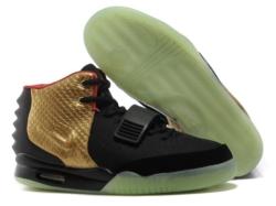Nike Yeezy Kanye West черно-золотые (40-45)