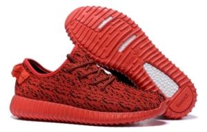 Adidas Yeezy 350 Boost черно-красные (35-45)