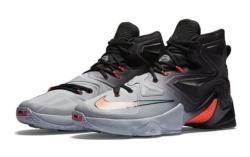 Nike Lebron чёрные с белым (40-46)