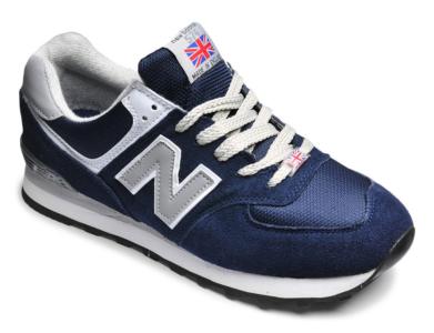 New Balance 574 темно-синие с серым (40-44)