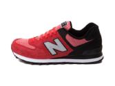 New Balance 574 черно-красные (35-40)