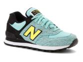 New Balance 574 голубые с желтым (35-39)