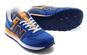 New Balance 574 синие с желтым (35-45)
