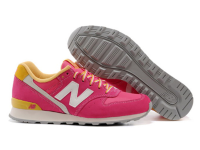 New Balance 996 розовые с желтым (35-39)