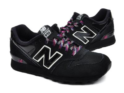 New Balance 996 черные с белым (35-40)