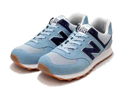 New Balance 574 голубые с синим (35-40)