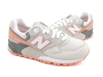 New Balance 999 серые с оранжевым (36-41)