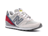 New Balance 996 бежевые с красным (35-39)