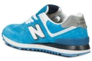 New Balance 574 голубые с белым (40-45)