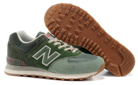 New Balance 574 зеленые (35-40)