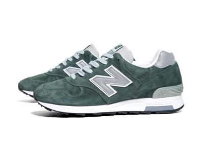 New Balance 1400 зеленые с серым (39-44)