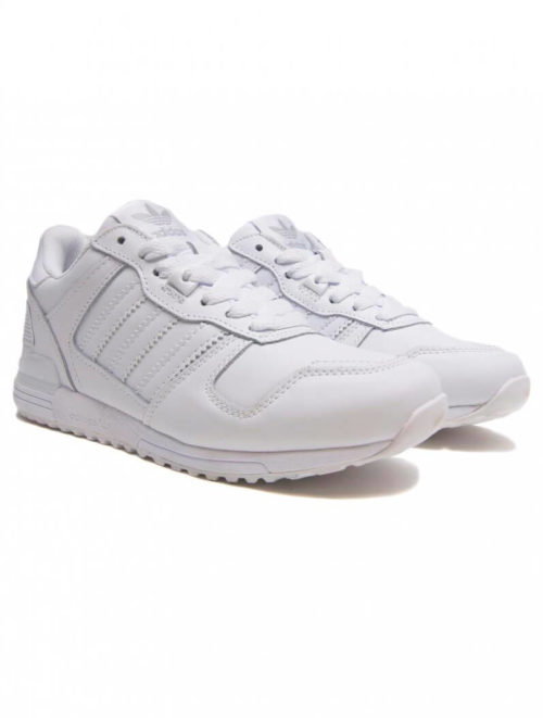 adidas zx 700 white leather мужские (40-46)