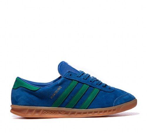 Кроссовки Hamburg синий/зеленый (40-45)