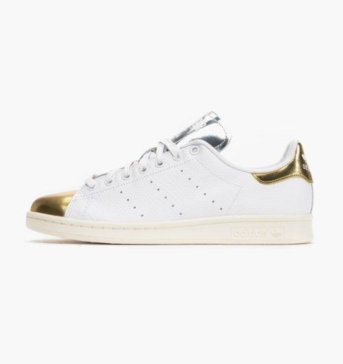 Adidas Stan Smith белые с золотым (36-40)