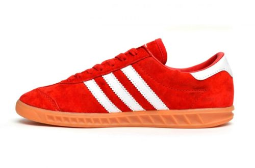 Adidas Hamburg красные (40-44)