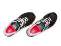 Кроссовки New Balance 574 ткань черные с бирюзовым (35-40)